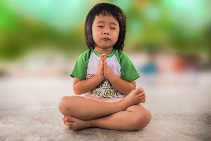 toddler meditating mindfulness activities