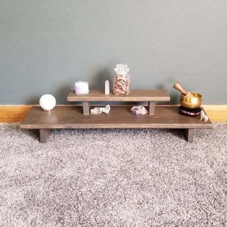 spiritual meditation altar